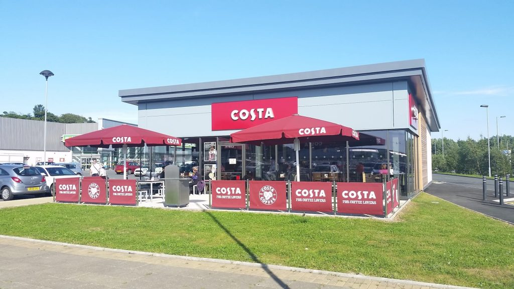 Costa Coffee, Auldhouse Retail Park, Glasgow