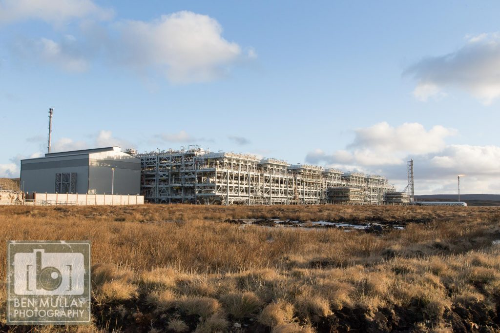Total Gas Plant, Shetlands